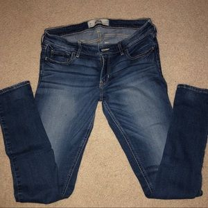 Hollister stretch skinny jeans. Size 11 regular.